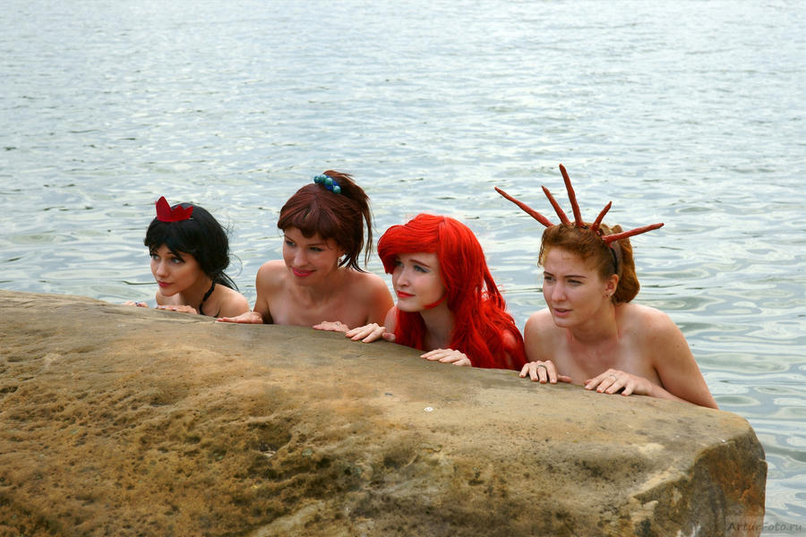 Mermaid Sisters by Usagi-Tsukino-krv