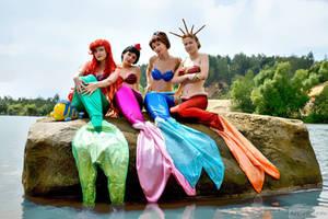 Mermaid Sisters 3 by Usagi-Tsukino-krv