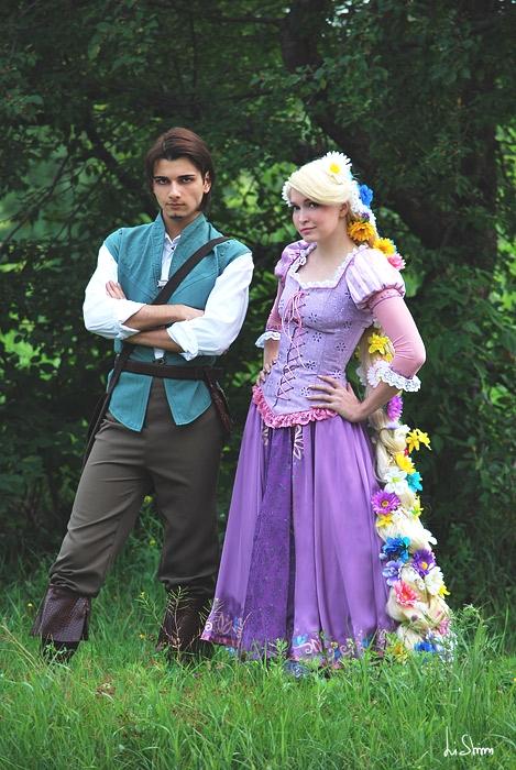 Rapunzel and Flynn 1 by Usagi-Tsukino-krv