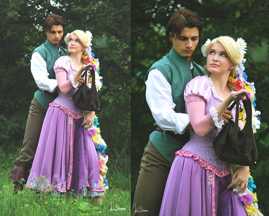 Rapunzel and Flynn 2 by Usagi-Tsukino-krv