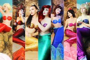 Mermaid Group by Usagi-Tsukino-krv