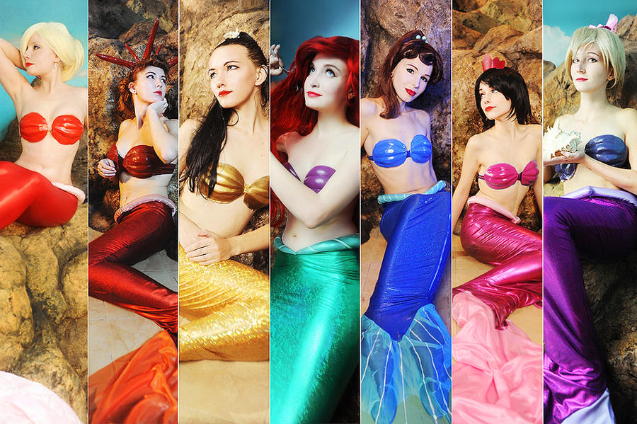 Mermaid Group by Usagi-Tsukino-krv