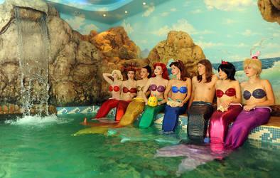 Mermaid group 3 by Usagi-Tsukino-krv