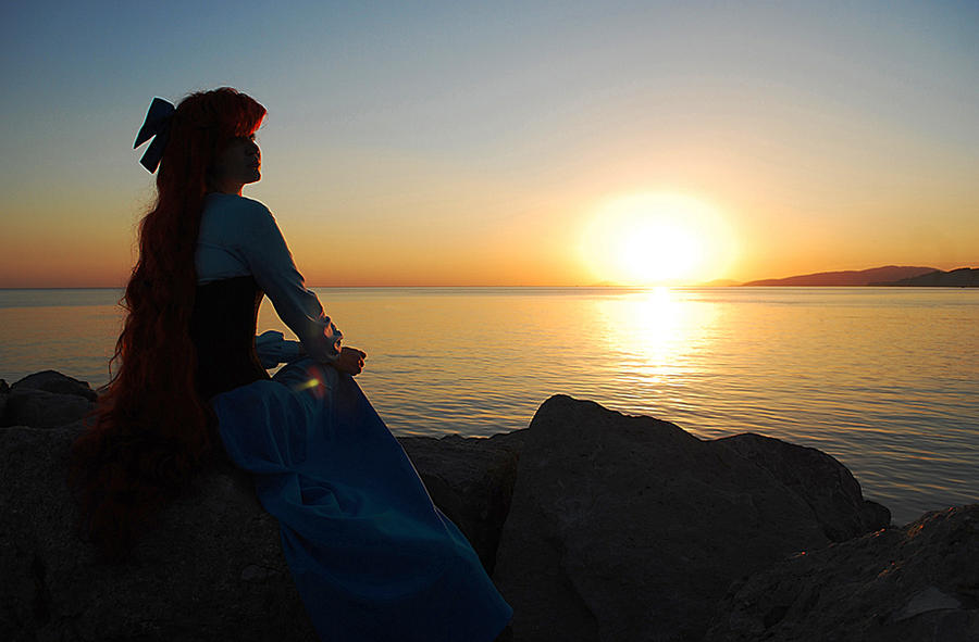 Ariel casual sunrise by Usagi-Tsukino-krv