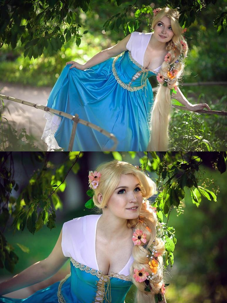 Blue Rapunzel concept 5 by Usagi-Tsukino-krv