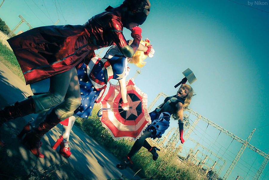 Avengers Female 2 by Usagi-Tsukino-krv