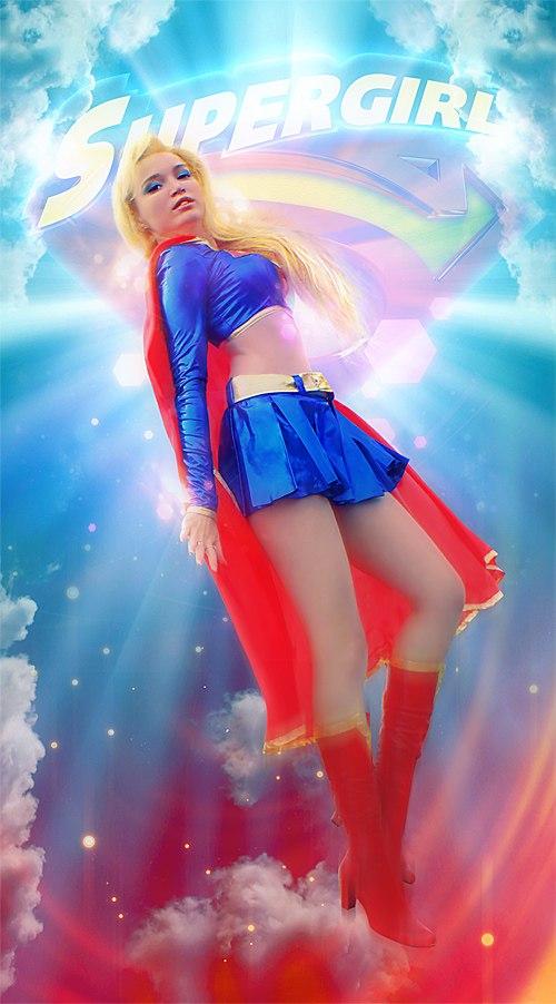 Super girl by Usagi-Tsukino-krv