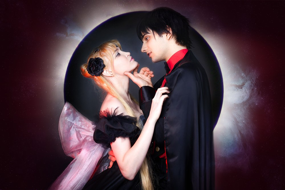 Serenity and Endimion dark 1 by Usagi-Tsukino-krv