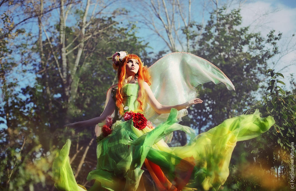 Honey Fairy Topaz 1 by Usagi-Tsukino-krv