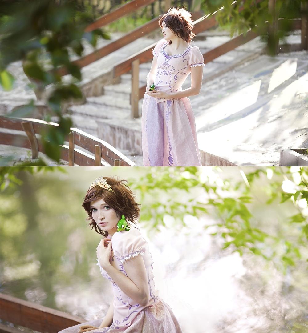 Rapunzel brunette 3 by Usagi-Tsukino-krv