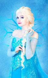 Queen Elsa 2 by Usagi-Tsukino-krv