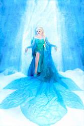 Queen Elsa 4 by Usagi-Tsukino-krv