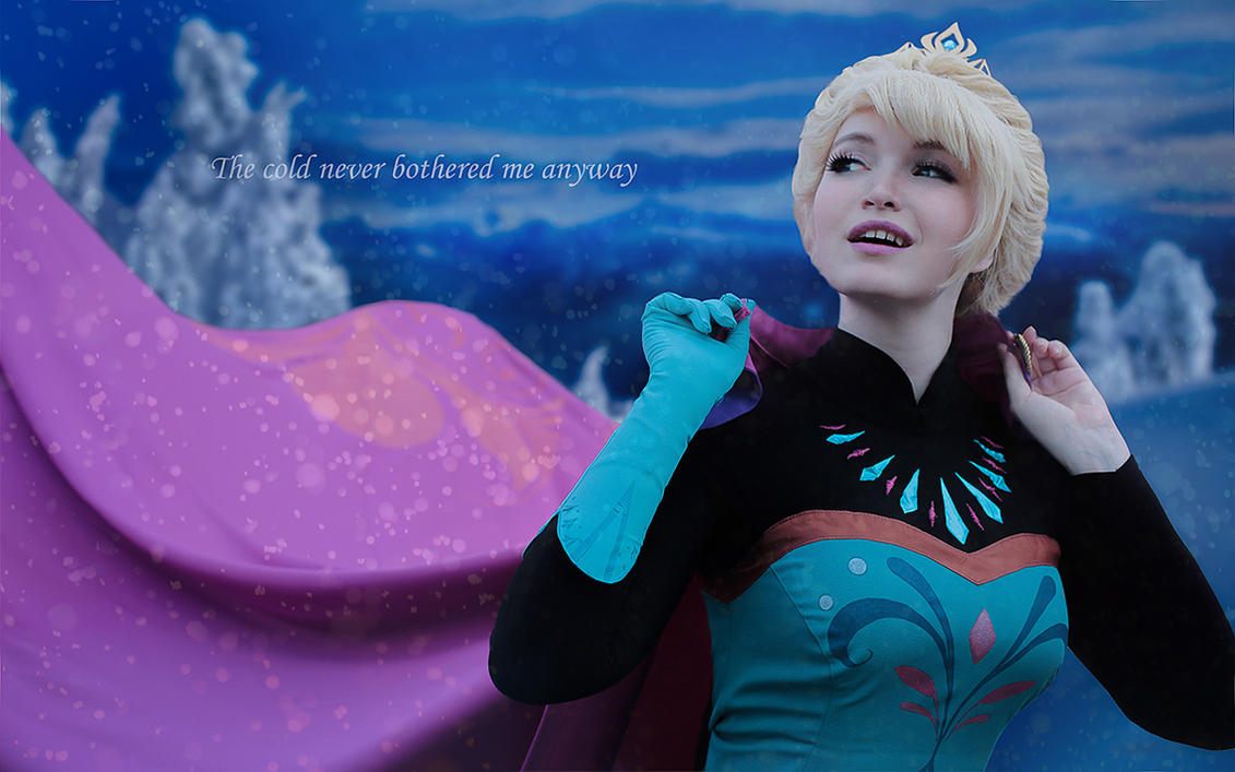 Queen Elsa 1 by Usagi-Tsukino-krv