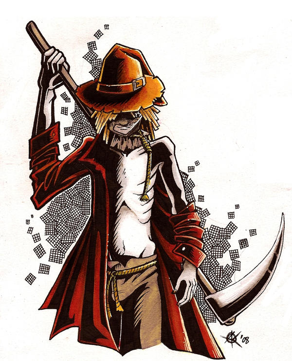 Image Result For Scarecrow Coloring