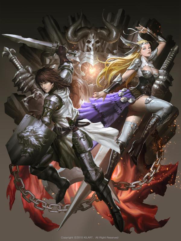 Galeria de Arte: Ficção & Fantasia 1 - Página 4 Sword_born_by_kilartdev-d7oasm7