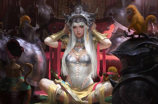 Amored princess