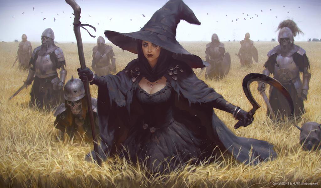 WITCH by KilartDev