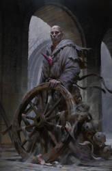 Fallen monk