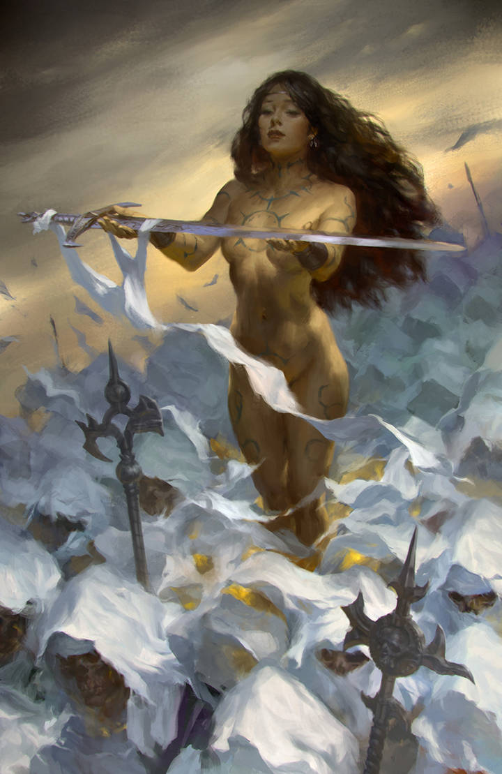 spirit of sword by KilartDev