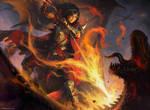 Slaying Fire by KilartDev