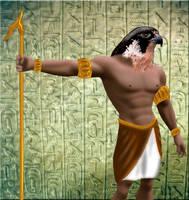 Horus by RavenWhitefang