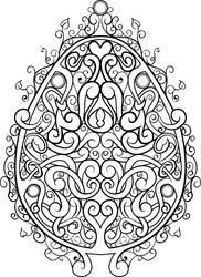 April Free Coloring Page