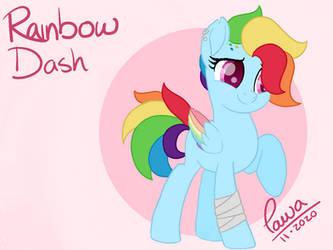 Redesign of Rainbow Dash