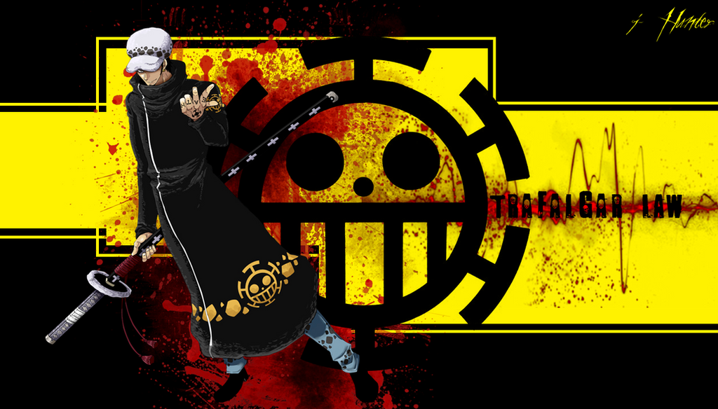 Wallpaper One Piece Trafalgar Law By JHunter by ...