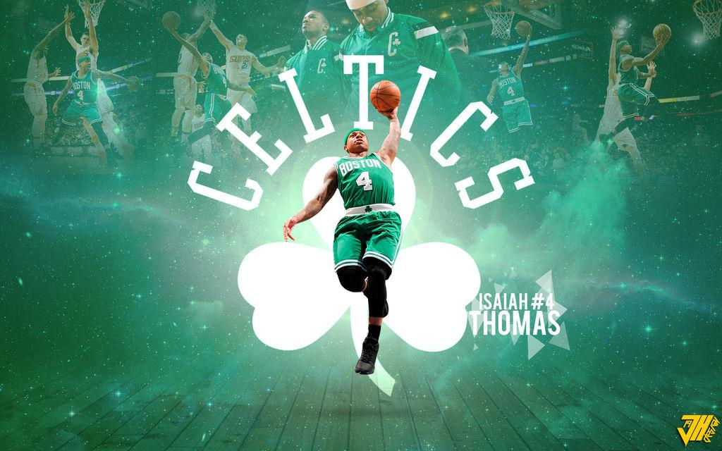 Wallpaper NBA Boston Celtics Isaiah Thomas JH19 by JulioHunter ...