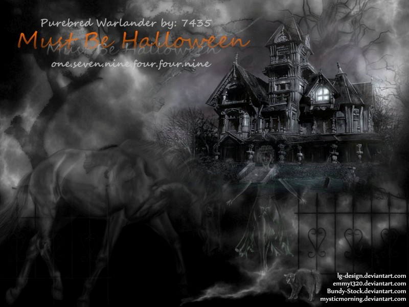 Must Be Halloween by JuneButterfly-stock