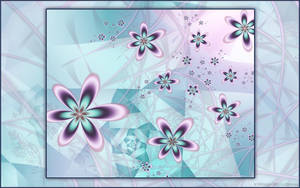 Pastel Flowers Centered by nes1973
