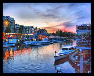 Amsterdam evening by rados82