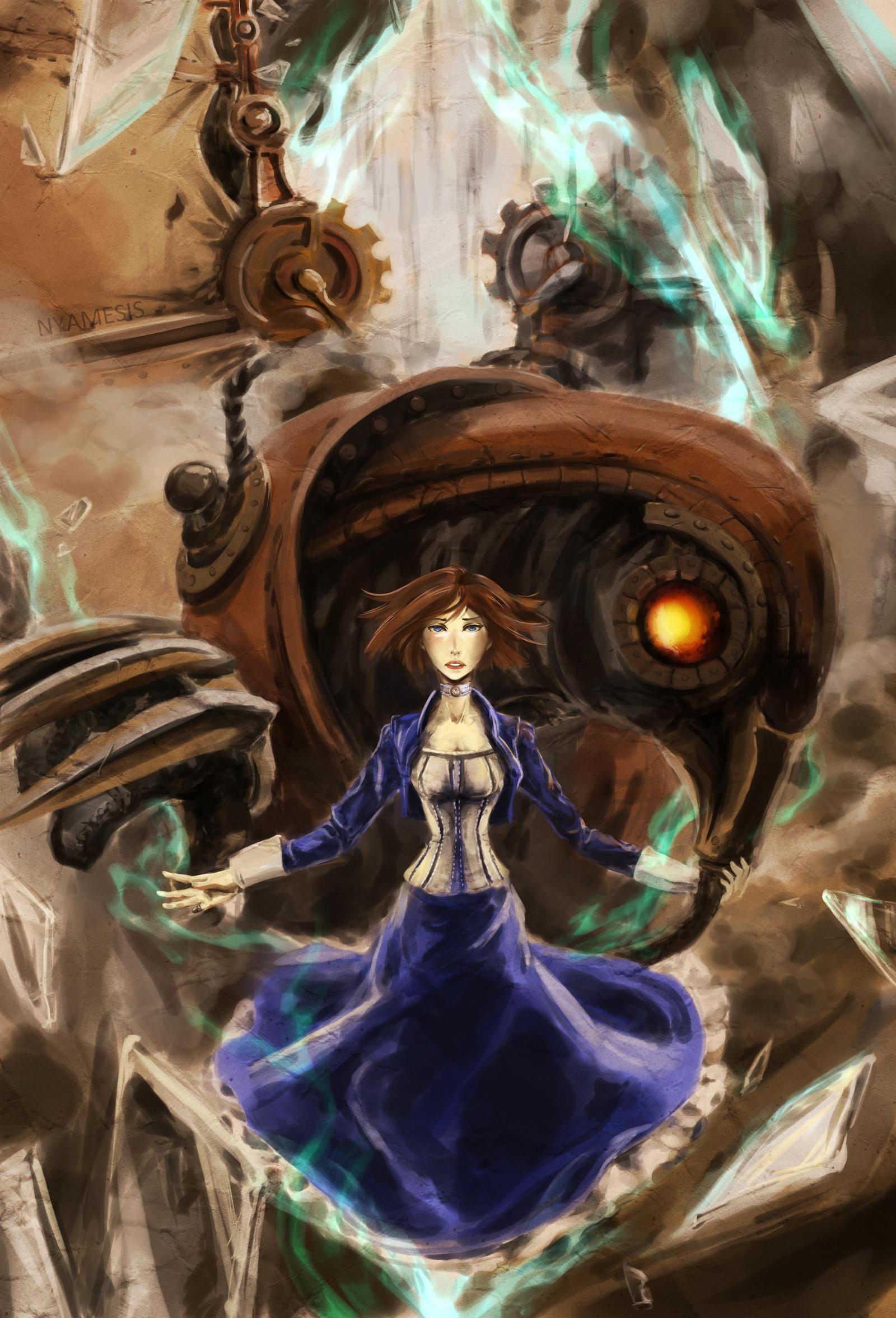 Bioshock Infinite by Nyamesiss