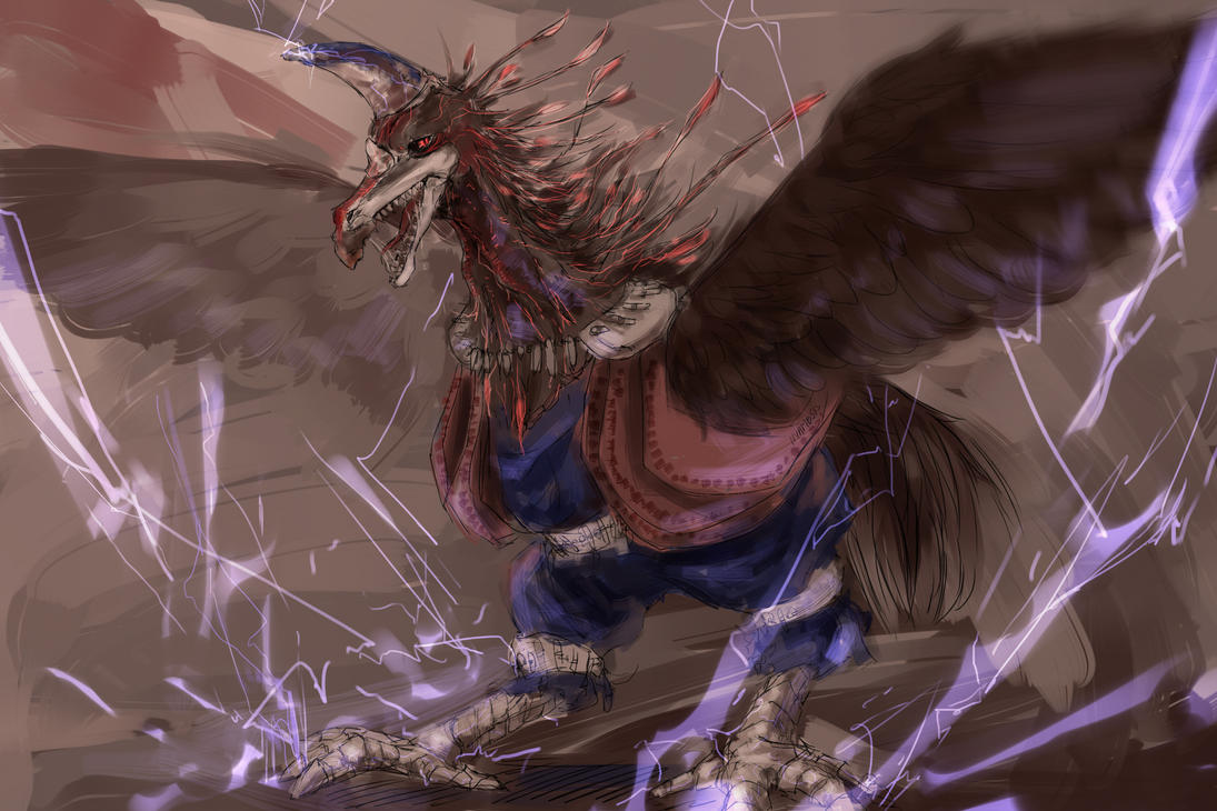 S095 thunderbird by Nyamesiss