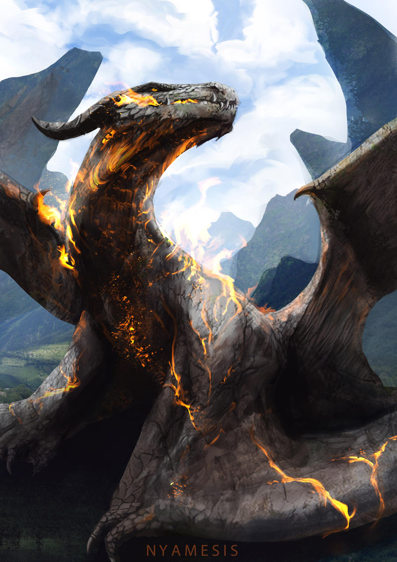 dragon by Nyamesiss