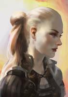 girl by Nyamesiss