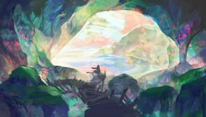 Dreamwalker - luminescent caves
