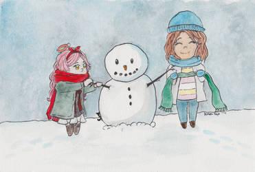 Chii Ava Watercolor Freebie by KittehFaye