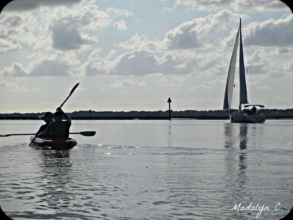 Kayaking 2 by MadalynC