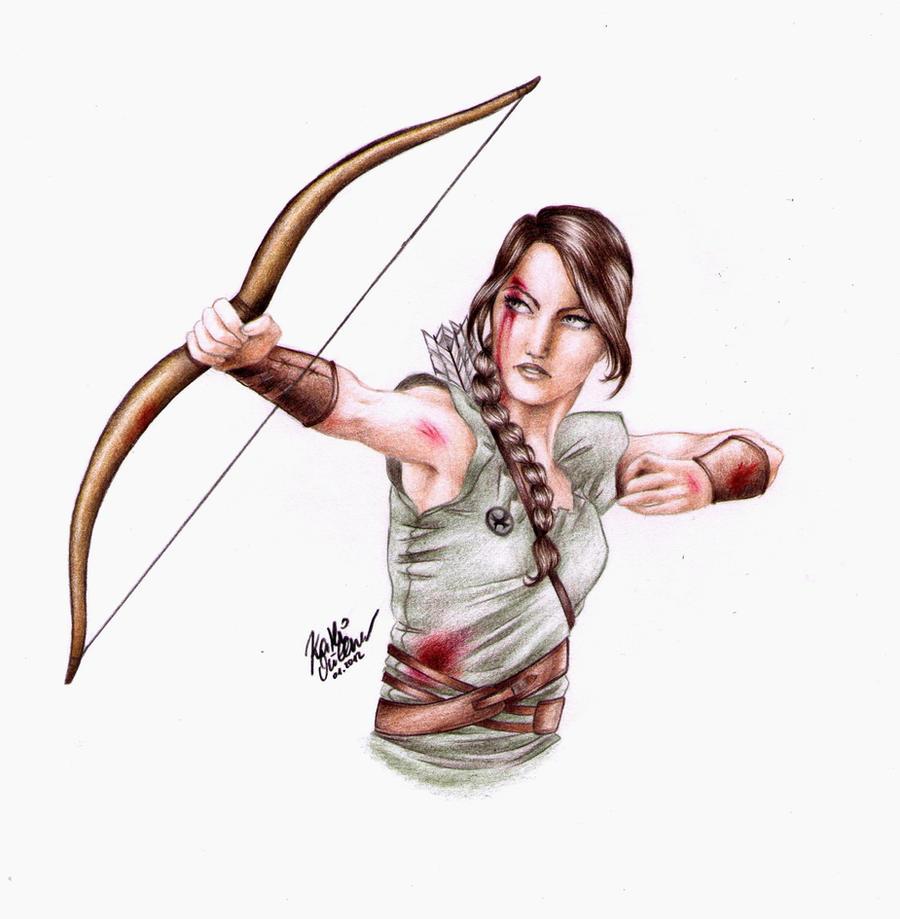 The Hunger Games: Katniss Everdeen by SilkSpectreII