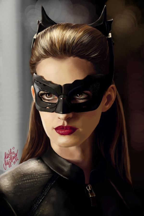 Anne Hathaway's Catwoman by SilkSpectreII