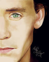 Hiddleston. by SilkSpectreII