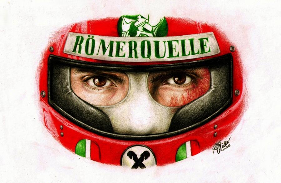 RUSH - Niki Lauda by SilkSpectreII