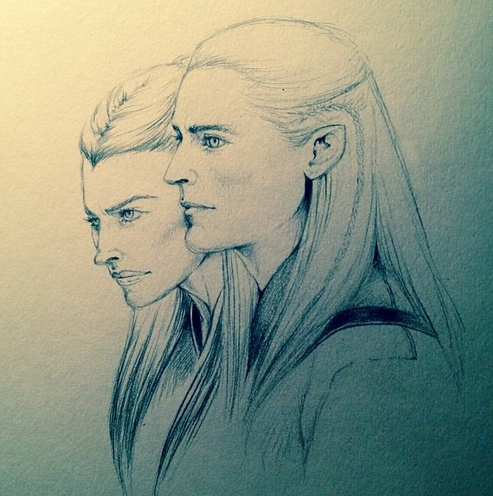 The Elves of Mirkwood by SilkSpectreII