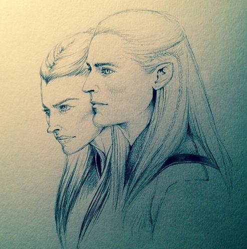 The Elves of Mirkwood by SilkSpectreII