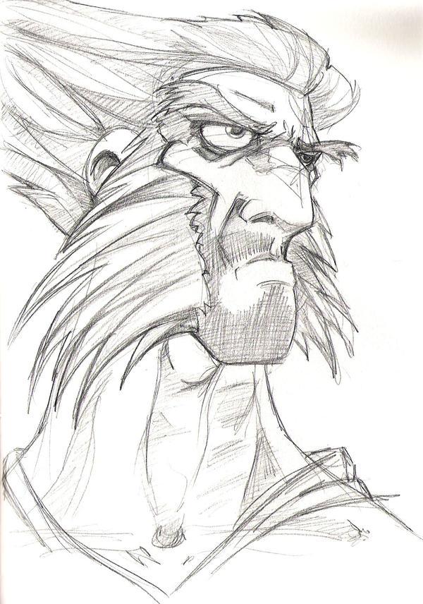 Part 14 / 9 Wolverine_head_shot_by_GriftersArt