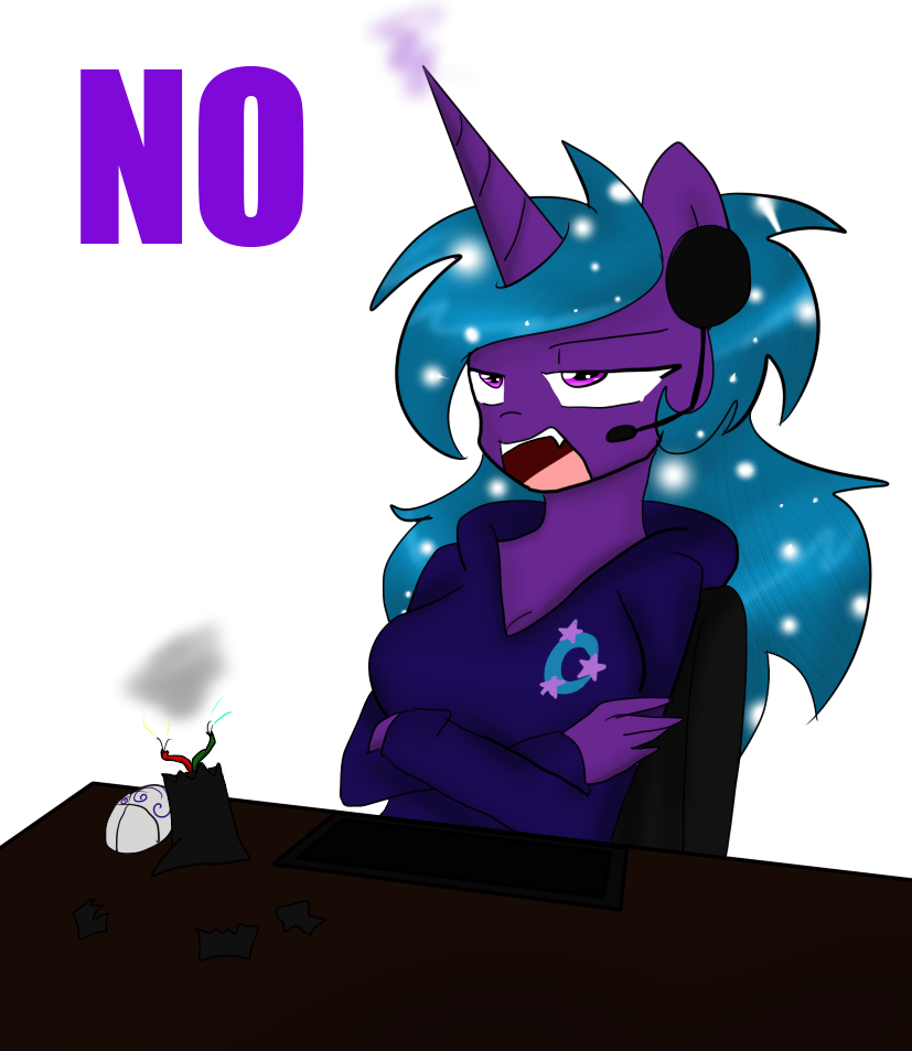 NO by DarkDreamingBlossom