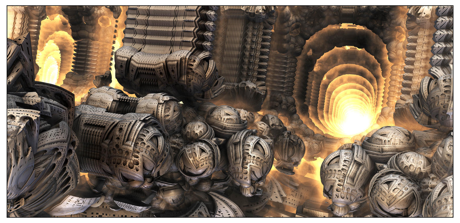 Engine Room of Valhalla by bluefish3d