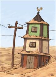 Sand House by dkirbyj