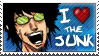 I LOVE the JUNK Stamp by dkirbyj